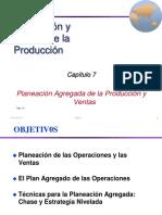 7. Planeacion Agregada de La Produccion y Ventas