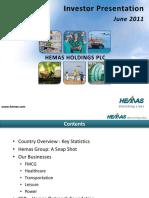 Hemas Investor Presentation June 2011