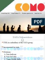 TATA-DOCOMO Group11 Marketing