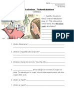 globalization intro textbook questions - socials 6