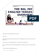 The Big Fat English Tenses Overview Clark and Miller 1
