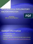 SPSS Series 6 Factor Analysis