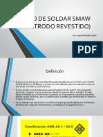 Proceso de Soldar SMAW (Electrodo Revestido)