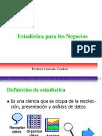Organizacin de Datos y Medidas Descriptivas - Cuadros