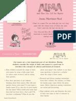 Alma and How She Got Her Name by Juana Martinez-Neal Teacher Tip Card