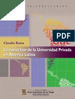2017 repositorio La nueva fase de la universidad privada en América Latina