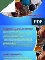 Konsep Manajemen Strategi