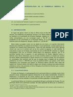 Tema 3. Paleoantropología de La P. Ibérica. El Paleolítico
