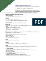 Schema de Imunomodulare Pentru Anotimpul Rece