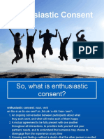 Enthusiastic Consent Notes