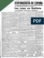La Correspondencia de España. 14-10-1915, n.º 21.064