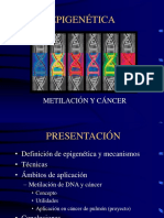 Sesion Metilacion