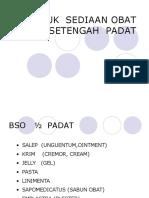 2. BSO SET PADAT