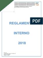 Reglamento Interno 2018