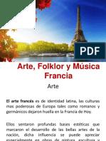 Arte, Folklor y Música en Francia