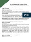 Catálogo de Instrumentos Psicométricos