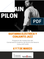 Guitarra Pilon