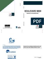 MANUAL Boulevard M800 2009