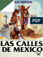 Gonzalez Obregon Luis - Las calles de Mexico.epub