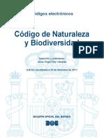 BOE-145 Codigo de Naturaleza y Biodiversidad