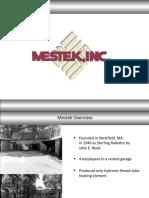 Mestek Arch Overview Presentation