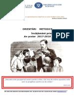 Orientari Metodologice - Invatamant Primar