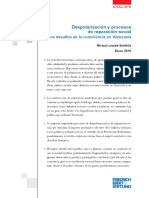 Ildis. Despolarizacion y Reparación Social Version Web