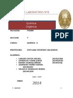 Informe 8 Quimica II