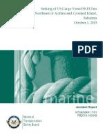 Marine Accident Report