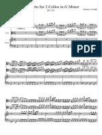 IMSLP387389-PMLP74682-Concerto for 2 Cellos in G Minor - Vivaldi, Antonio