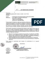 OFICIO MULTIPLE 43 Conformación de Consejo Educativo Institucional CONEI