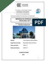 Memoria Internado Alania Beltrán, Lilian 2017 i - II v1