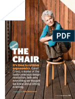 The Chair - Alexander Technique - Interview_galen_cranz_portland