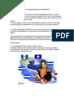 Causas y Consecuencias de La Independencia de Centroamérica