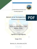 Evaluación de Aprendizaje- Aplicación de las Tecnologías de Información