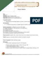 Proiect de lectie VERBELE PREDICATIVE SI NEPEDICATIVE, AUXILIARE.doc