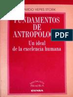 Yepes Stork, Ricardo - Fundamentos de Antropología