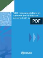 WHO GUIDELINE INTERVENTION PRETERM.pdf