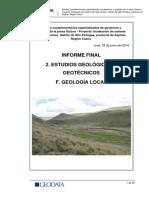 f. Geologia Local