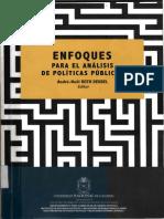 Roth Deubel Andre Noël_Las Politicas Publicas y Sus Principales Enfoques