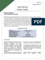 Hoja Técnica F1661