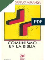 Porfirio Miranda, José - Comunismo en La Biblia.pdf
