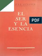 Gilson, Étienne - El ser y la esencia.pdf