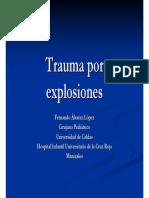Trauma Por Explosiones