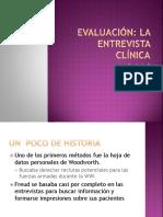 7. Evaluación La Entrevista Clínica (1)