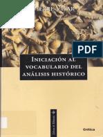 Iniciación al vocabulario de análisis histórico