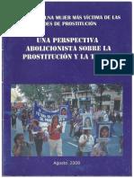 Campaña Ni Una Mujer Mas Victima de Las Redes de Prostitucion Una Perspectiva Abolicionista Sobre La Prostitucion y La Trata