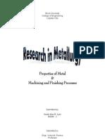 Metal Finishing and Properties Full PDF