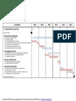 cronograma elaboracion tesis