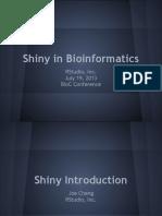 Shiny in Bio in for Matics